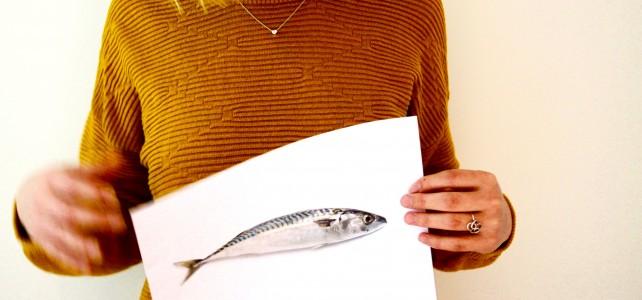 Spelen met een dode vis